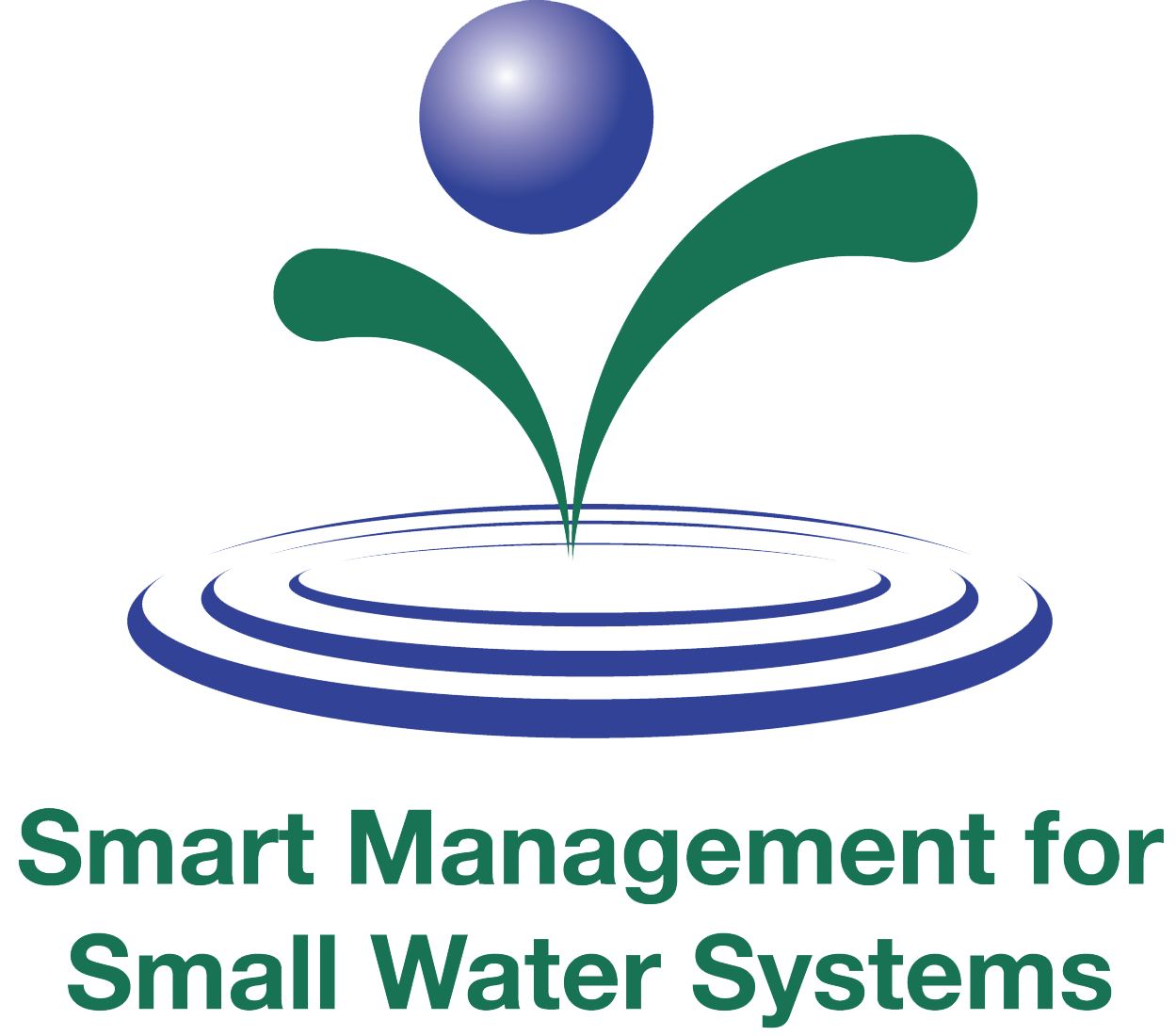 Smart Management for Small Water Systems Logo
